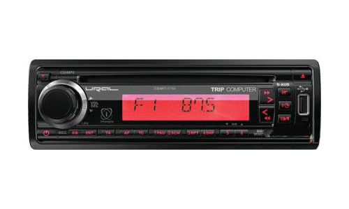 CD/MP3-ресивер с USB URAL (Урал) CDD/MP3-171SA Red + TC