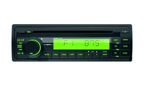 CD/MP3-ресивер URAL (Урал) RCD/MP3-131SA Green